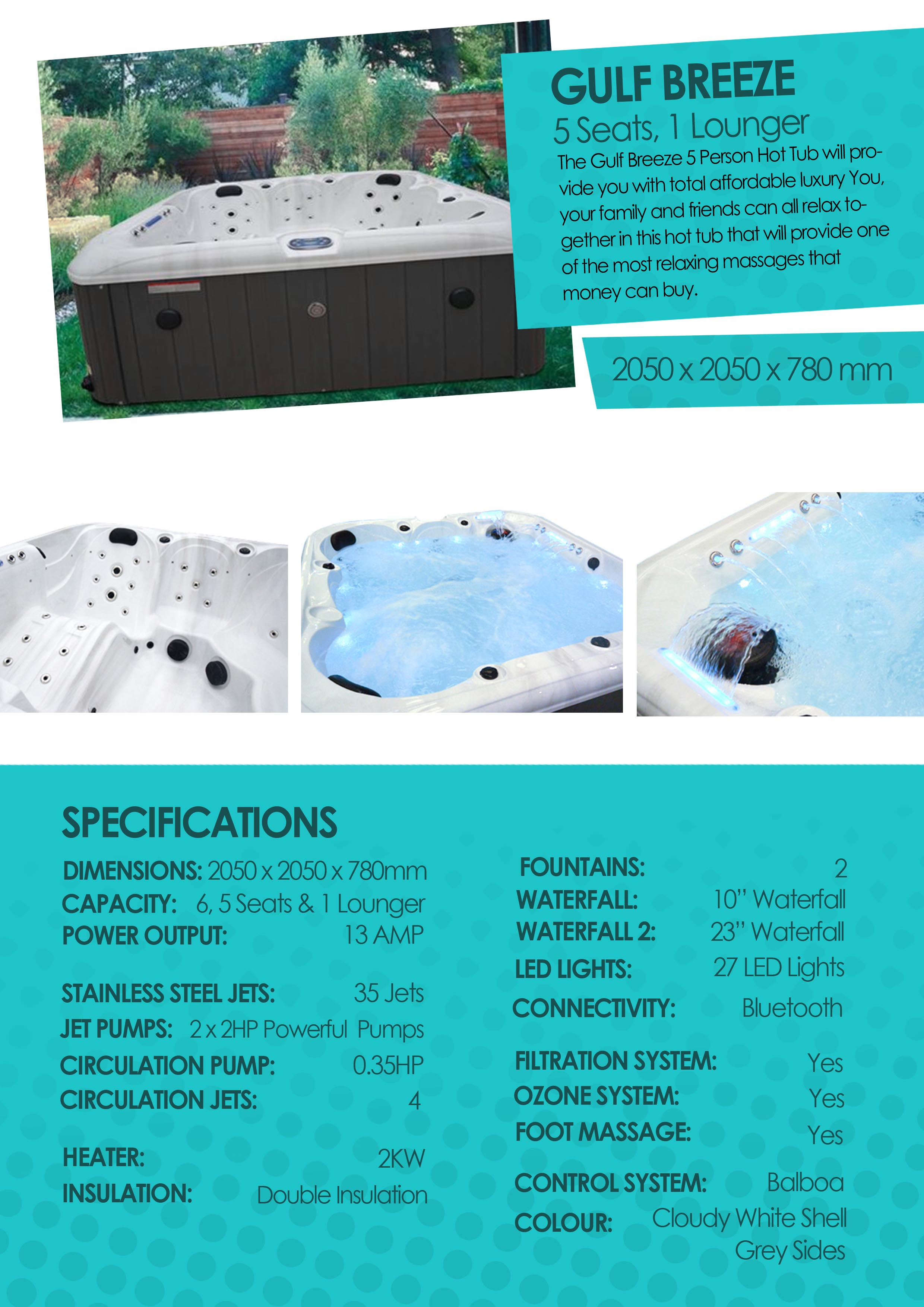 complete shipping del generator corona spa eclipse products hot free tub ozone discharge