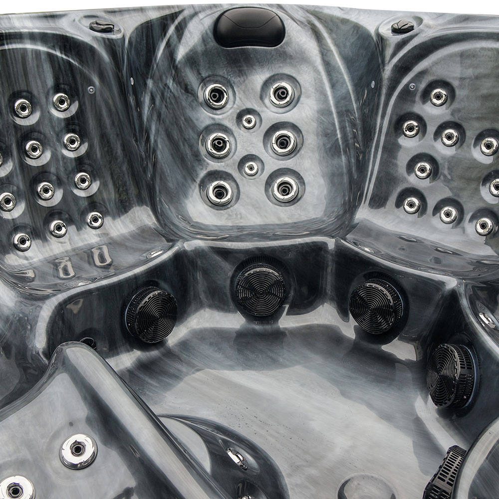 High Stream - 6 Person Hot Tub Details Image - 2