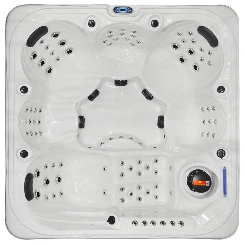 Ocean Stream - 6 Person Hot Tub Cover Image